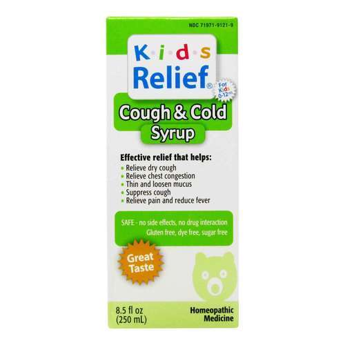 Homeolab USA Kids Relief Cough  Cold - 8.5 oz (250 ml) - 55355_front2020.jpg
