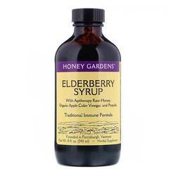 Honey Gardens Apitherapy Honey Wild Cherry Bark Syrup