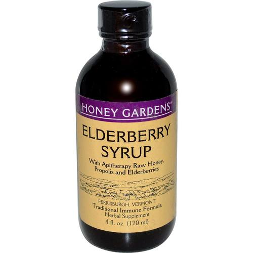 Apitherapy Elderberry Honey Syrup