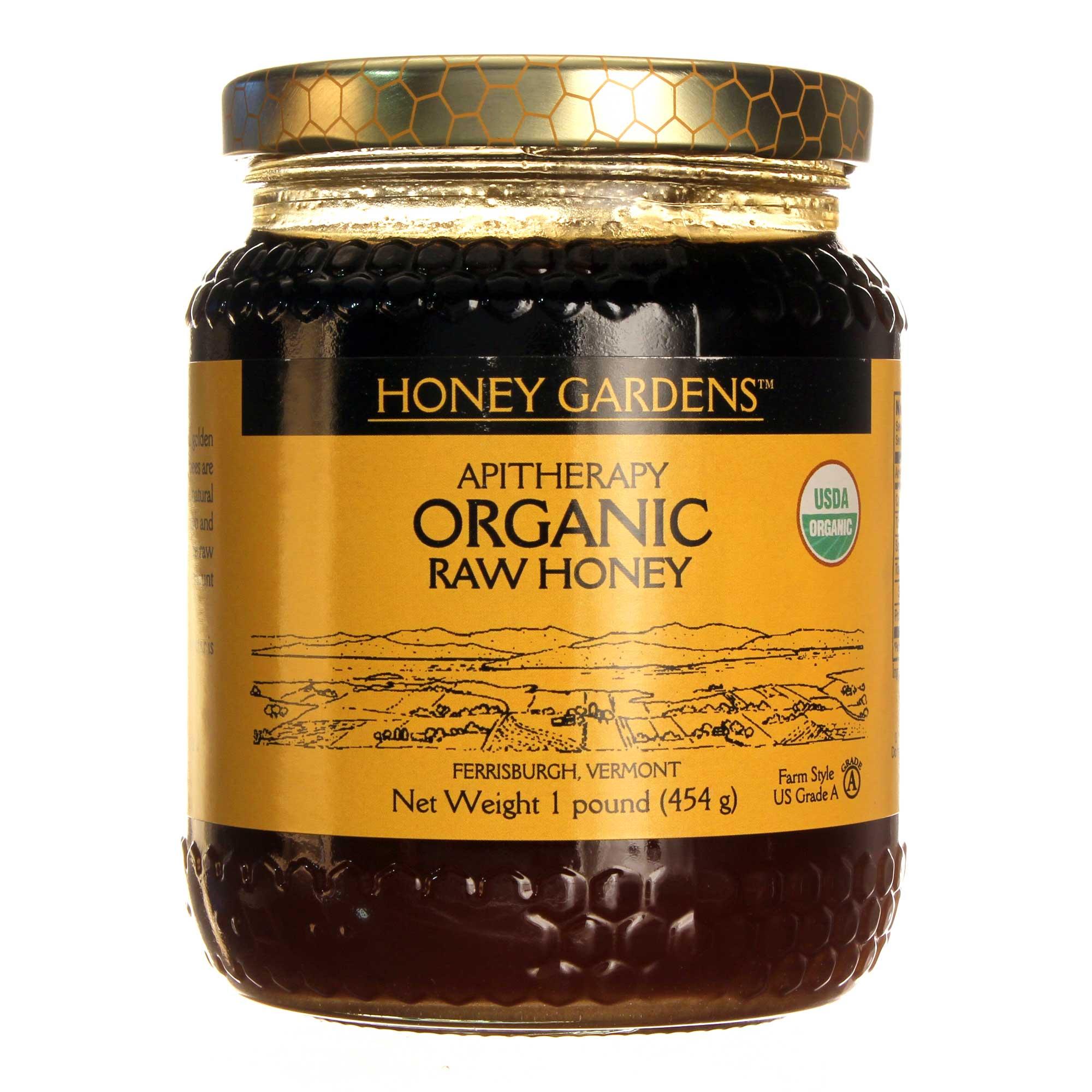 Honey Gardens Organic Raw Honey - 1 lb