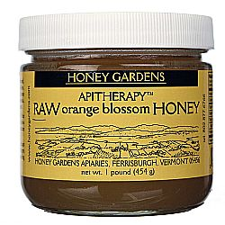 Honey Gardens Orange Blossom Raw Honey