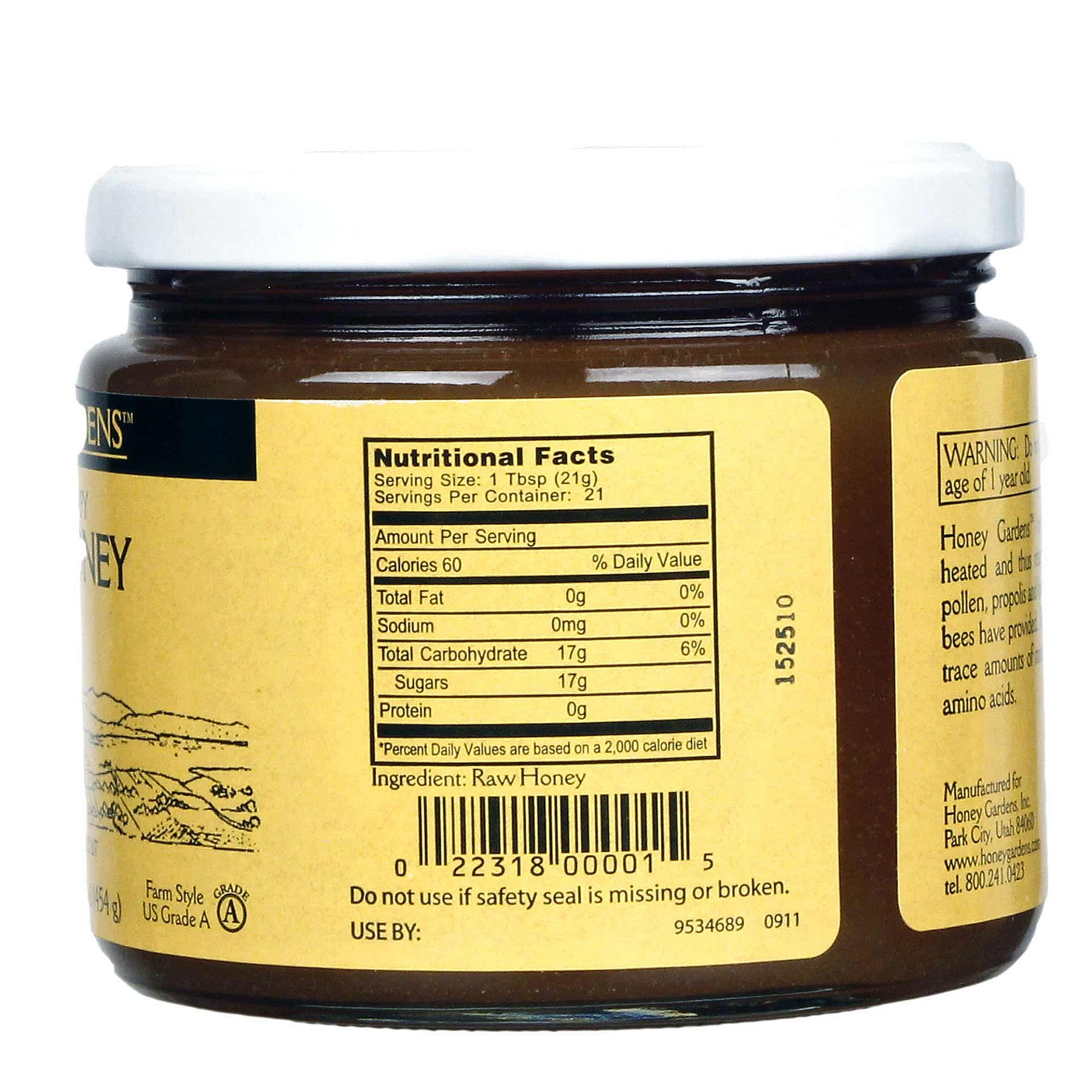 100 pure raw chunk honey comb in jar of raw honey 1 lb - HD2000×2000