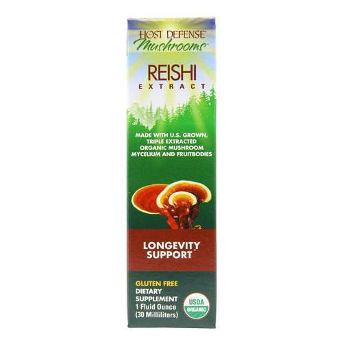 Host Defense Reishi Extract - Longevity Support - 1 fl oz (30 ml) - 350567_front2020.jpg