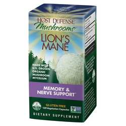 Host Defense  Lion's Mane - Memory  Nerve Support