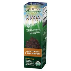Host Defense Chaga Extract - Antioxidant  DNA Support 30 ml