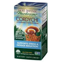 Host Defense Cordychi - Supports Stress  Fatigue Reduction