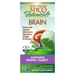 Host Defense MycoBotanicals Brain - 60 Vegetarian Capsules