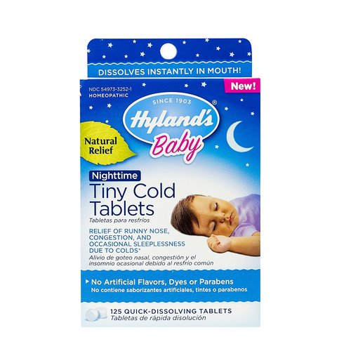 Baby Nighttime Tiny Cold Tablets