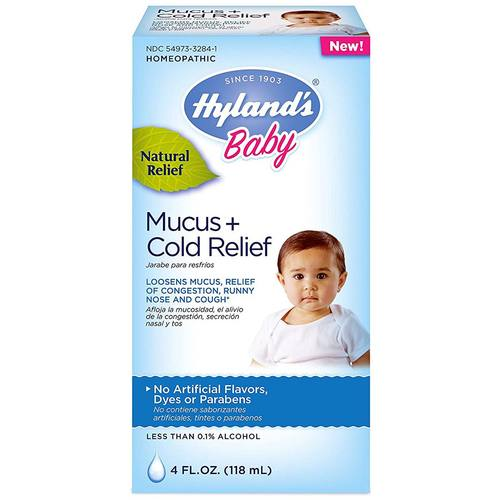 Baby's Mucus and Cold Relief