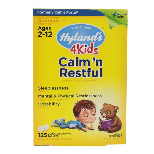 Hyland's Calm 'n Restful  - 125 Tablets