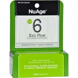 Hyland's NuAge 6 Kali Phos Potassium Phosphate