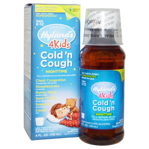 Nighttime Cold N'Cough 4 Kids