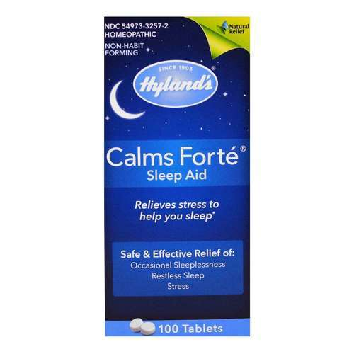 Hyland's, Calms Forte - 100 Tabletes - 2628_front2020.jpg