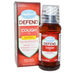Hyland's Defend Cough Syrup