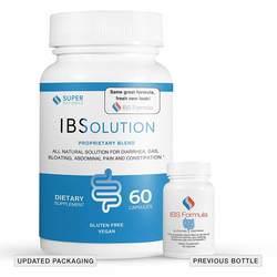 IBS Formula Natural IBSolution - Gluten Free - Vegetarian Formula