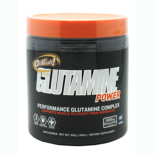 Oh Yeah Glutamine Power