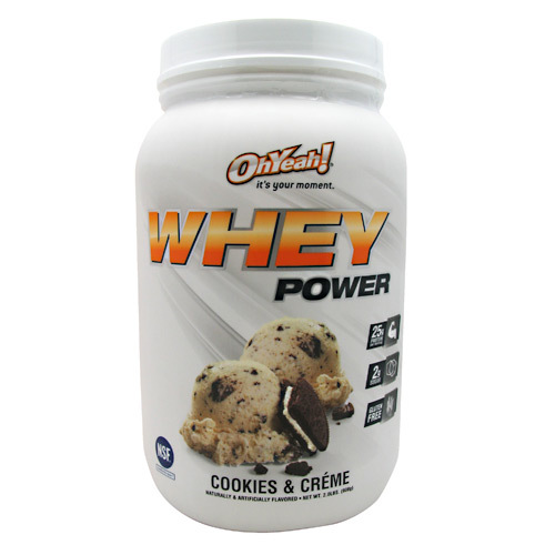 ISS Research Oh Yeah Whey Power Cookies & Creme - 2 lbs