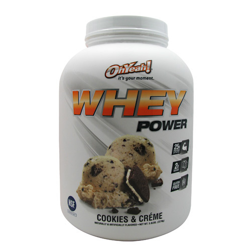 ISS Research Oh Yeah Whey Power Cookies and Creme - 5 lbs