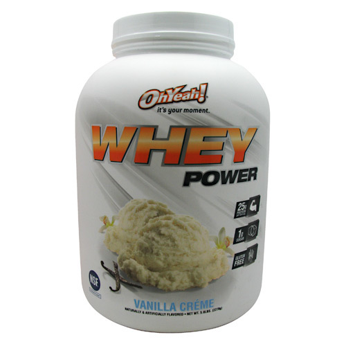 ISS Research Oh Yeah Whey Power Vanilla Creme - 5 lbs