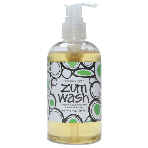 Indigo Wild Zum Wash Rosemary Mint - 8 fl oz - 111395_0.jpg