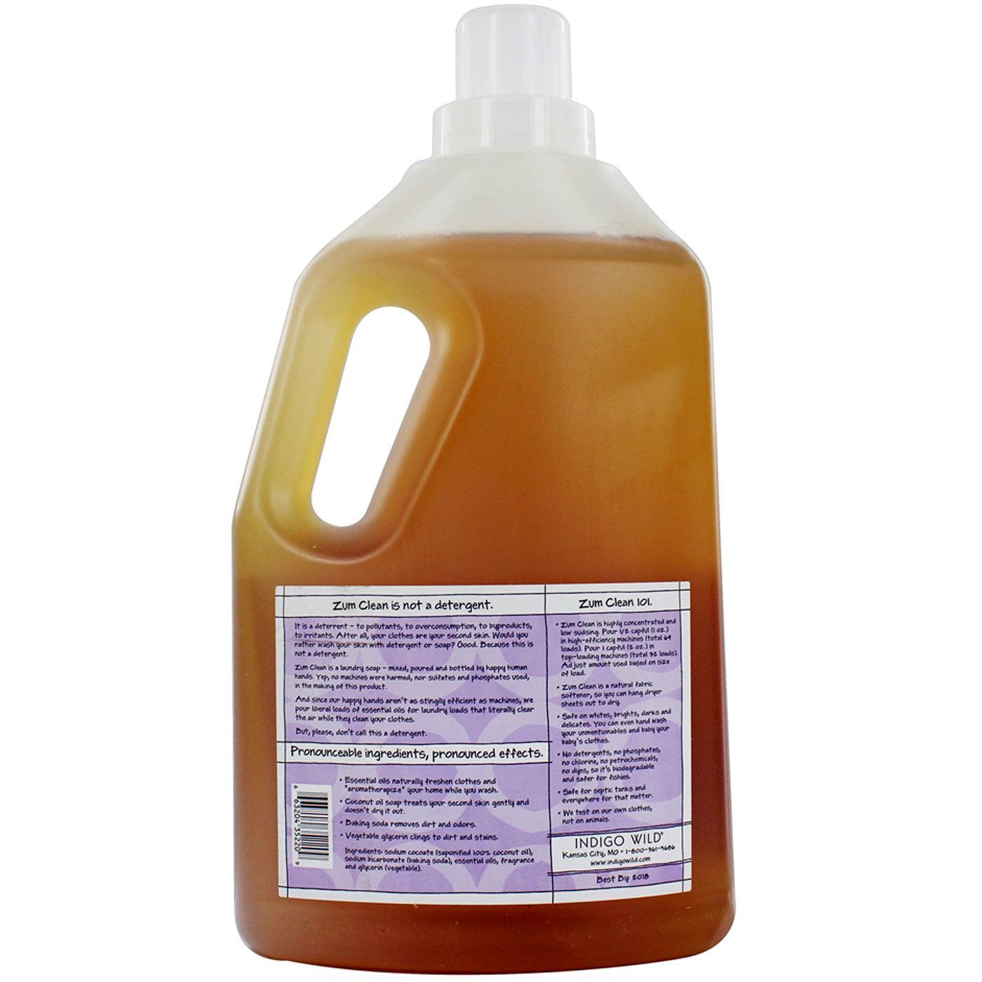 Indigo Wild Zum Clean Laundry Soap Frankincense Amp Myrrh 64 Fl Oz Evitamins Com