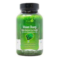 Irwin Naturals Vision Sharp Multi-Nutrient Eye Health