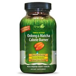 Irwin Naturals Oolong and Matcha Calorie Burner