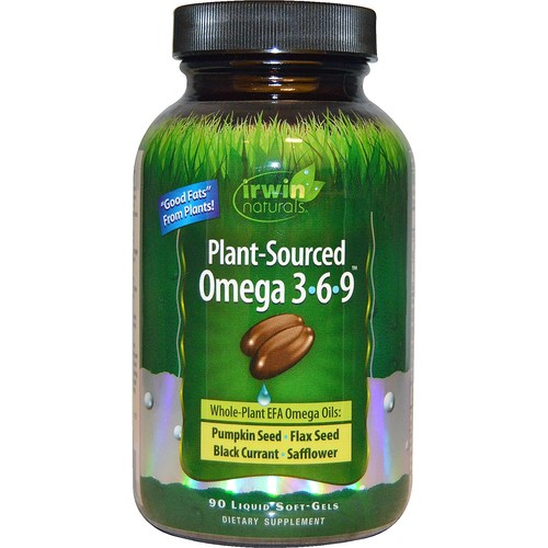 Plant-Sourced Omega 3-6-9