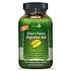 Irwin Naturals Ginger and Papaya Digestive Aid