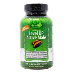 Irwin Naturals Level Up Active Male