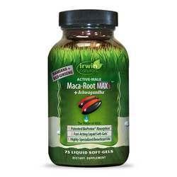 Irwin Naturals Maca Root Max3 + Ashwagandha