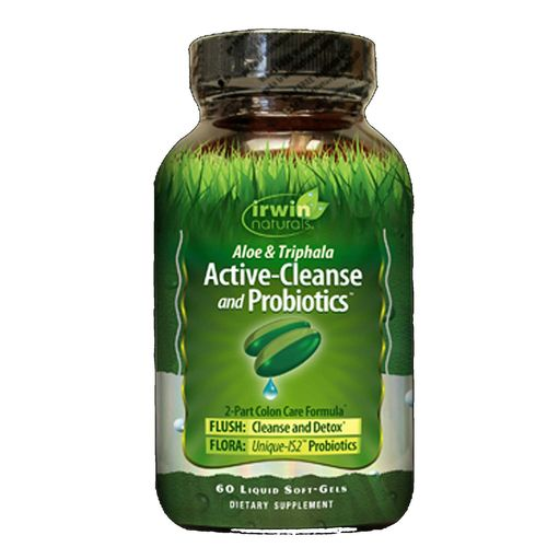 Aloe and Triphala Active-Cleanse and Probiotics