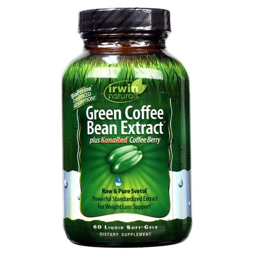 Green Coffee Bean Extract Plus KonaRed Coffee Berry