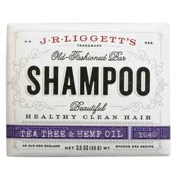 J.R. Liggett's Shampoo Bar - Tea Tree Oil  Hemp Oil