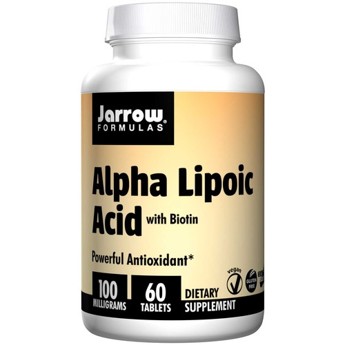 Jarrow Formulas Alpha Lipoic Acid  - 100 mg - 60 Tablets