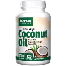 Jarrow Formulas Extra Virgin Coconut Oil Softgels