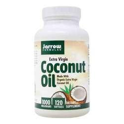 Jarrow Formulas Extra Virgin Coconut Oil Softgels