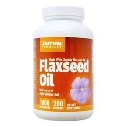 Jarrow Formulas Organic Flaxseed Oil