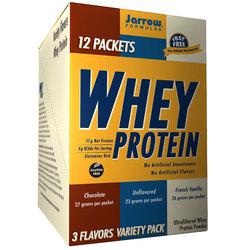 Jarrow Formulas 100% Natural Whey Protein Variety Pack