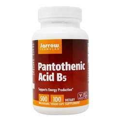 Jarrow Formulas Pantothenic Acid 500 mg