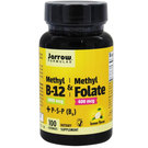 Jarrow Formulas Methyl B12 & Methyl Folate, Limão - 100 Lozenges