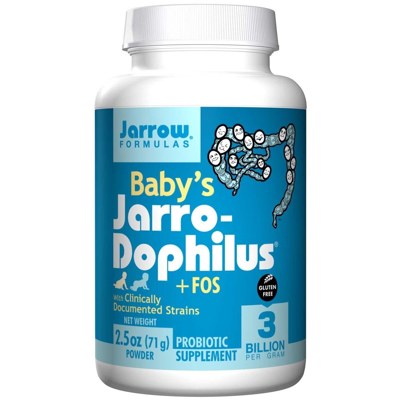 Jarrow Formulas Baby S Jarro Dophilus Fos 71 G