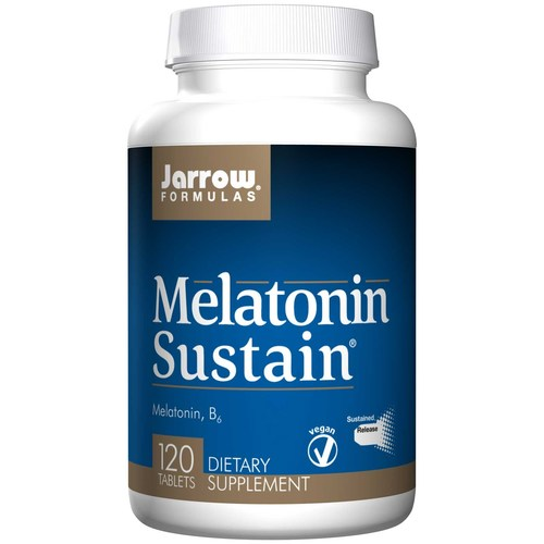 Jarrow Formulas Melatonin Sustained Release - 1 mg - 120 Tablets - 69814_1.jpg