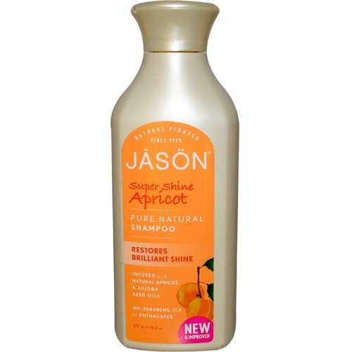 Super Shine Apricot Pure Natural Shampoo