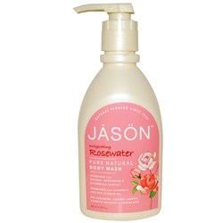 Jason Natural Cosmetics Invigorating Rosewater Pure Natural Body Wash