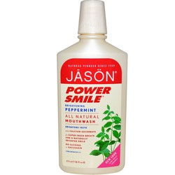 Jason Natural Cosmetics Power Smile All Natural Mouthwash