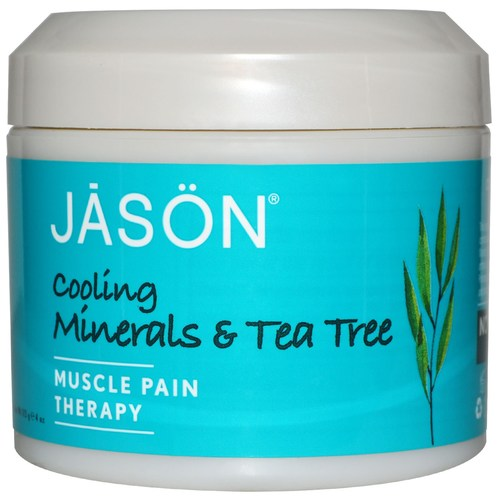 Cooling Minerals and Tea Tree Pure Natural Muscle Pain Therapy
