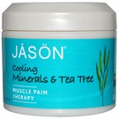 Jason Natural Cosmetics Cooling Minerals and Tea Tree Pure Natural Muscle Pain Therapy