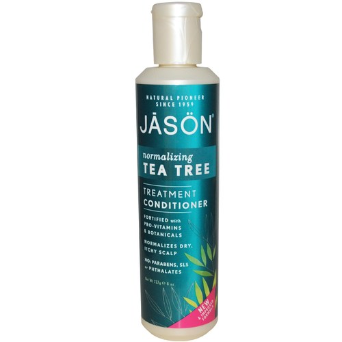 Jason Natural Cosmetics Treatment Conditioner Scalp Treatment - Tea Tree Scalp Normalizing - 8 fl oz - 19586_01.jpg
