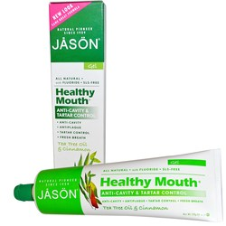 Jason Natural Cosmetics Healthy Mouth Anti-Cavity and Tartar Control Gel
